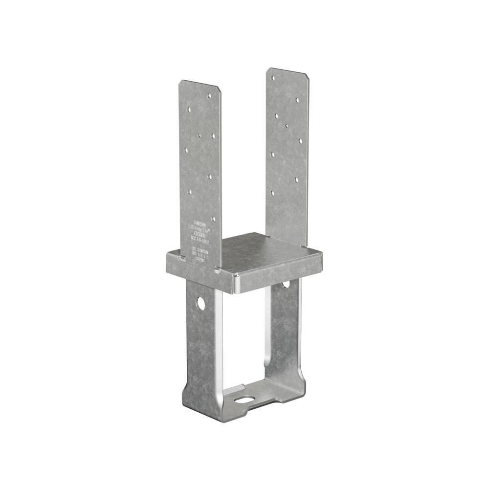 12-Gauge 6 in. x 6 in. Standoff Column Base with SDS Screws