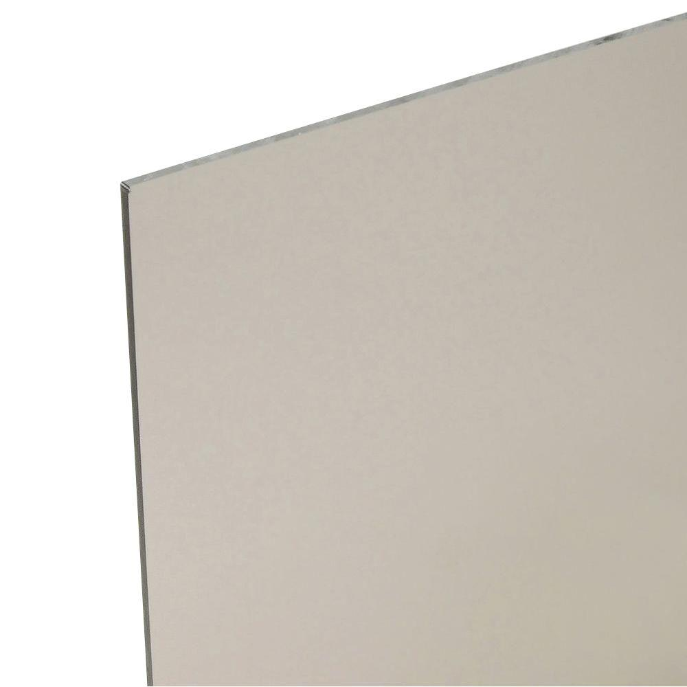 48 in. x 96 in. x 0.118 in. Bronze Polycarbonate Sheet
