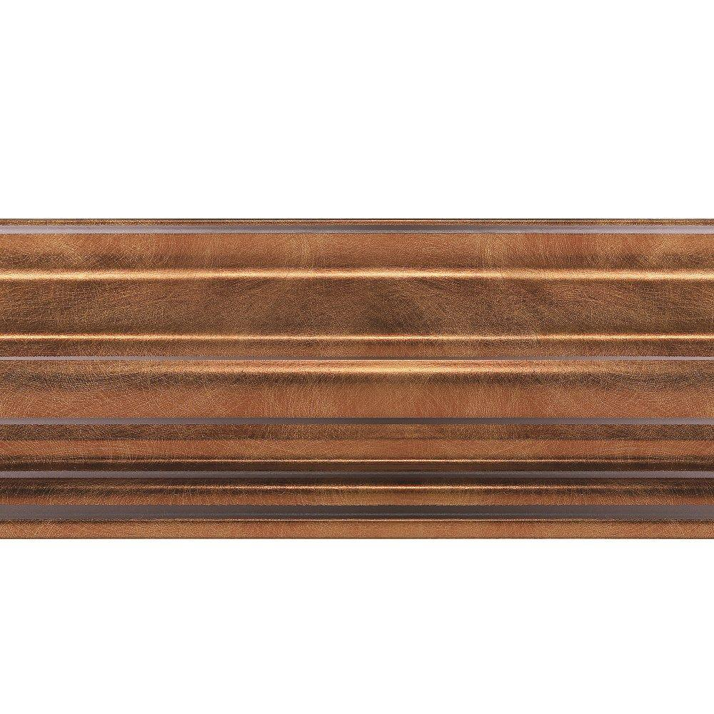 1.063 in. x 6 in. x 96 in. Wood Antique Bronze Classic Style Ceiling Crown Molding