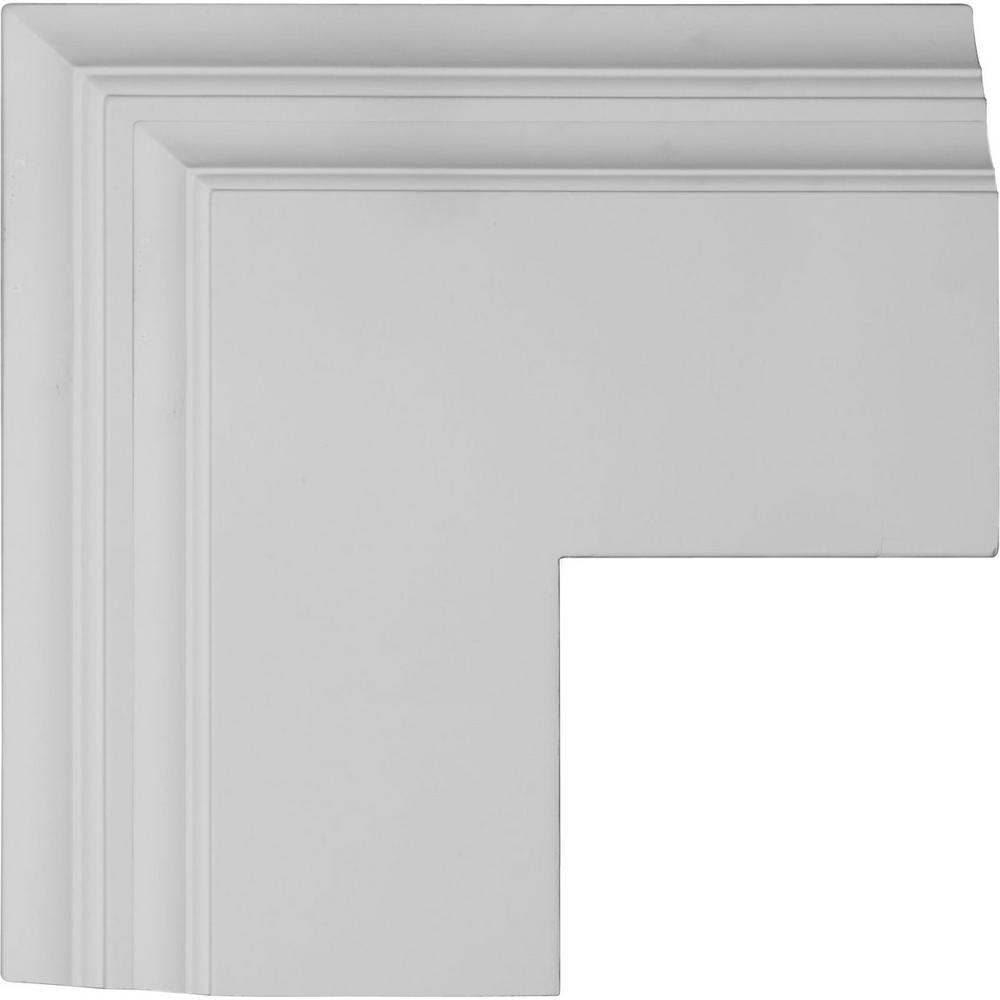 14 in. Perimeter Outside Corner for 8 in. Deluxe Coffered Ceiling System
