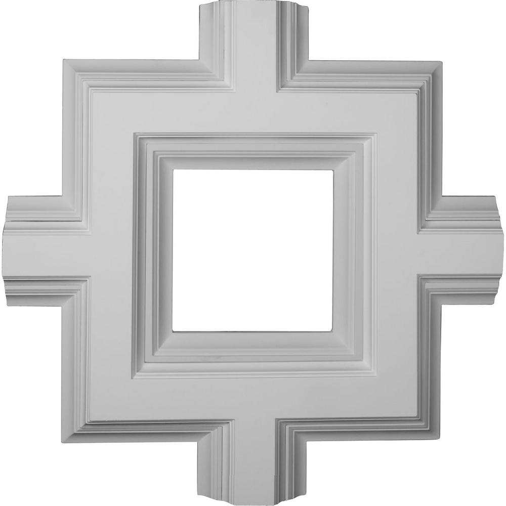 36 in. Inner Square Intersection for 8 in. Deluxe Coffered Ceiling System