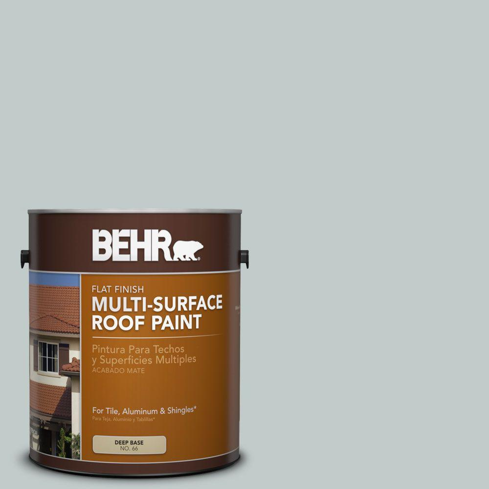 1-gal. #RP-12 Royal Slate Flat Multi-Surface Roof Paint