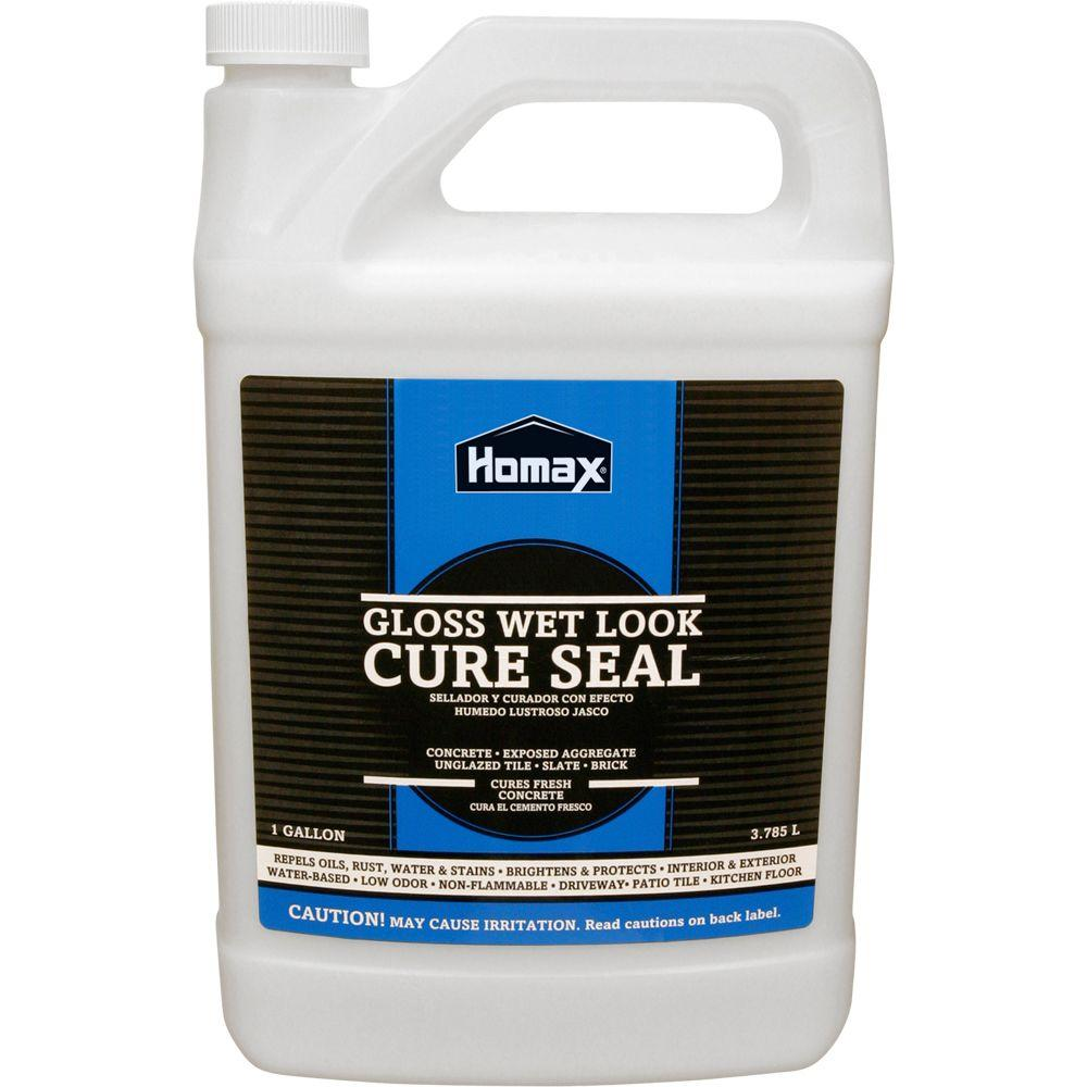 1 gal. Wet-look Cure Seal for Concrete