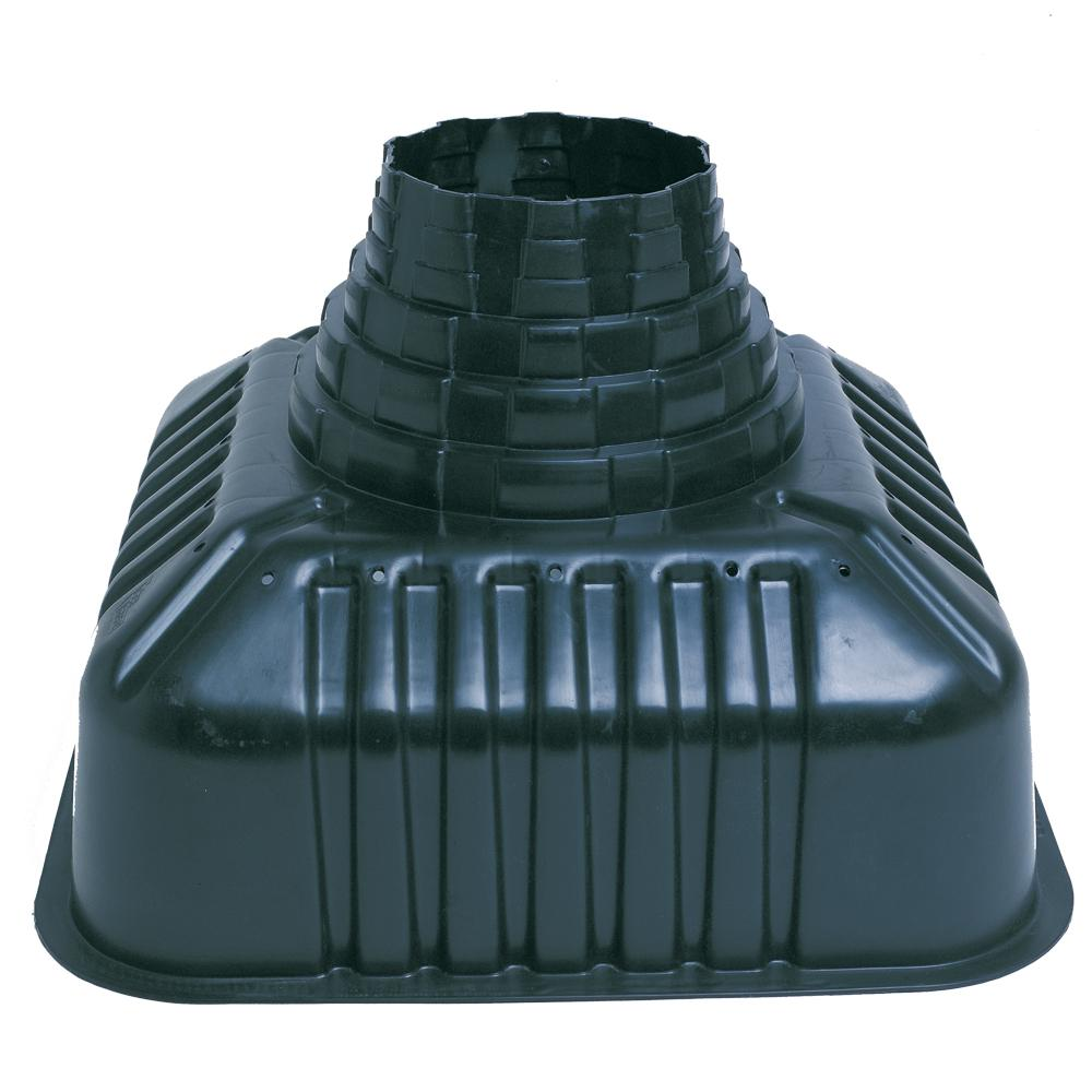 32 in. x 22 in. x 32 in. Plastic Concrete Footing Form