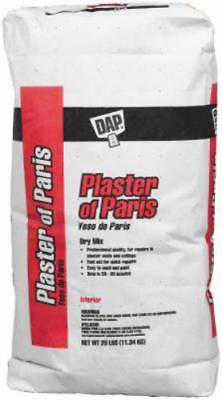 25 LB Bag White Plaster Of Paris For Hobby Mold and Casts Only One