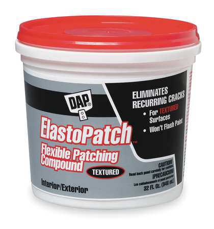 DAP 12288 Patching Compound, 1 qt, Pail, Off-White
